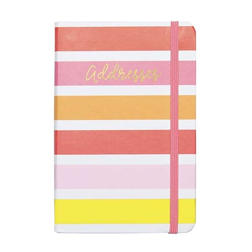 small address book bright lively