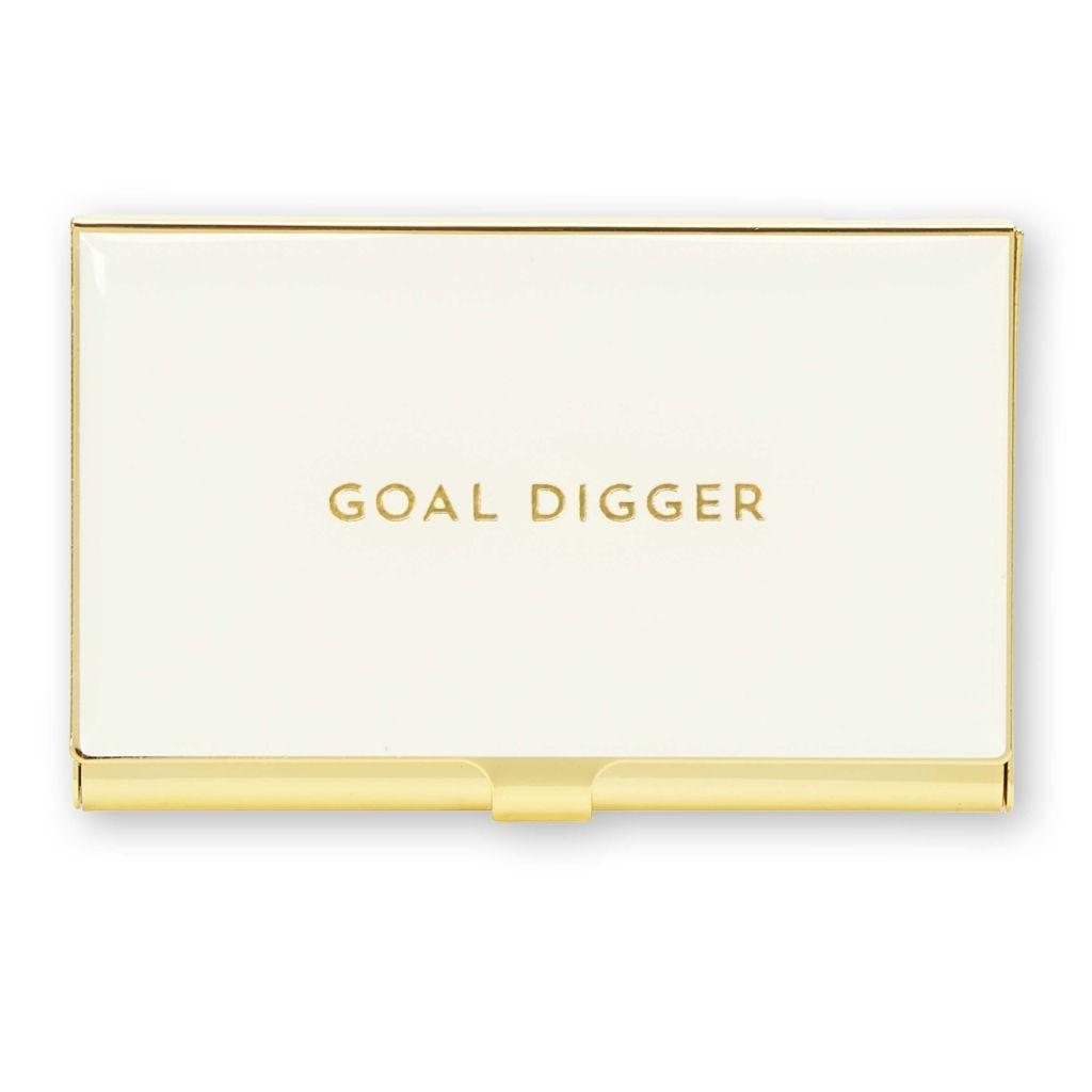 Business Card Holder - Goal Digger