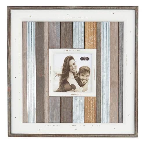 small metal variegated frame mud pie - Mud Pie Picture Frames
