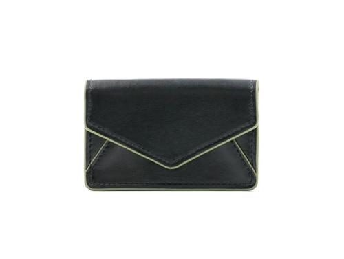 Bobbi chicago black belmont black business card case colourmoves