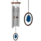Woodstock Agate Chime™-Large, Blue