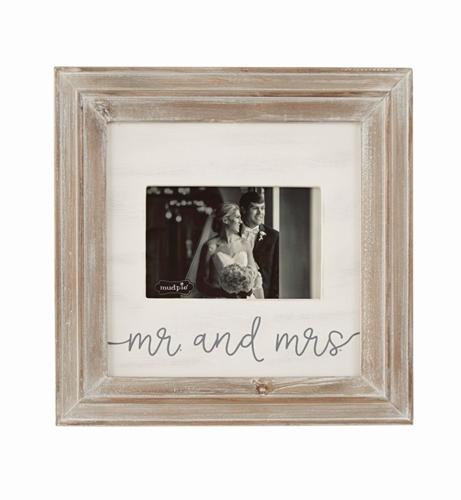 Mr. & Mrs. Small Wood Frame
