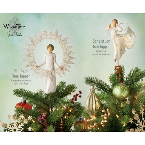 Willow Tree Tree Toppers 2019 Easel Sign With Rdi