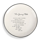 "The Giving Plate - 10""dia."