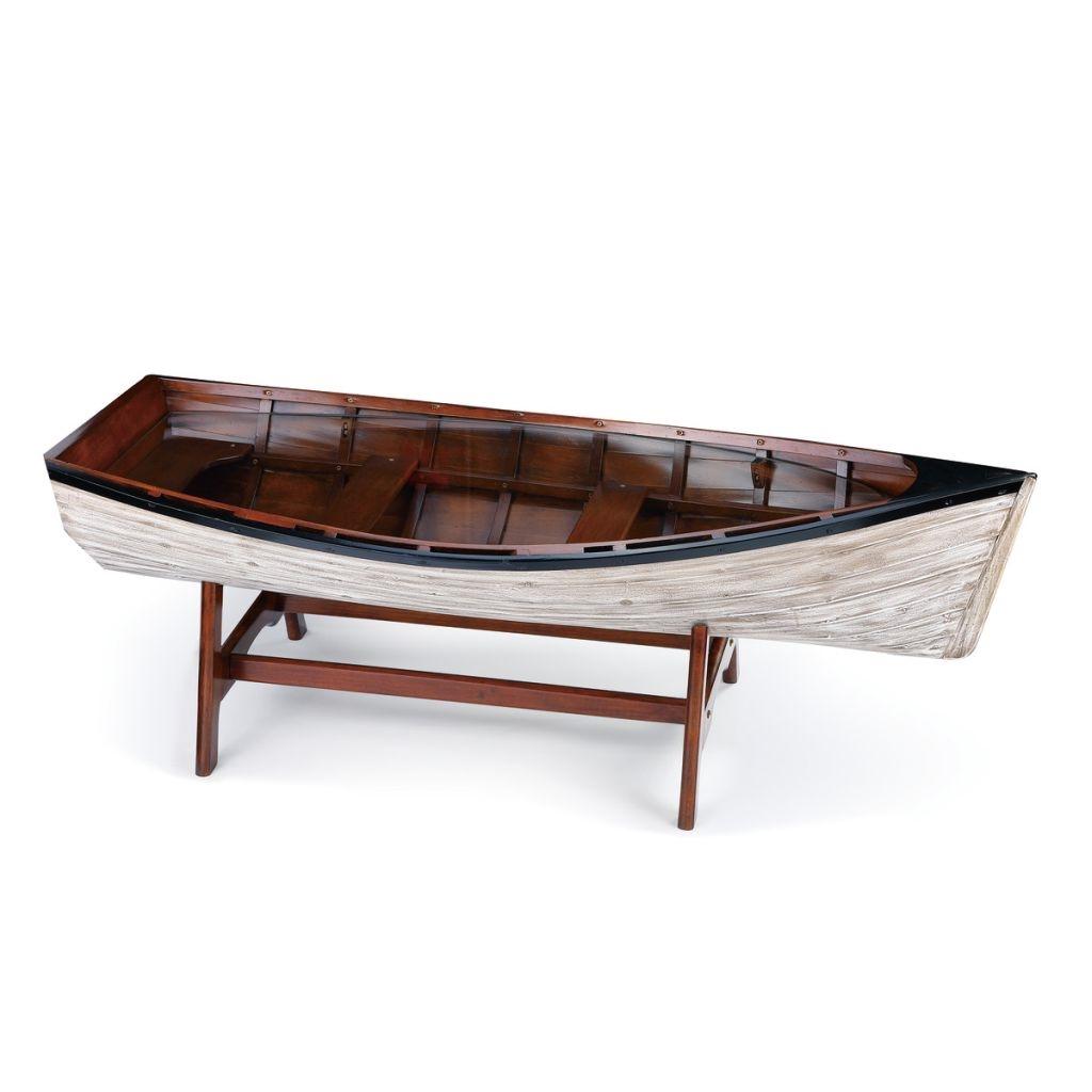 Drift Boat Coffee Table