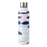 SS Curved Bottle Pretty in Paint CR