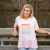 Prepack T-Shirt At the Beach Pink S-L