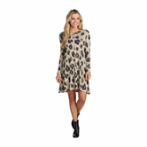 Leopard Jillie Swing Dress