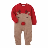 Knit Reindeer One Piece Infant Kit