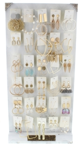 Luminous Earring Collection, 2 Each of 30 Styles, Free Display Package