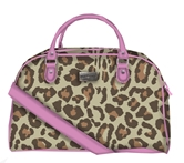 Lil Jane Exotic Overnight Bag 19 x 10 x 12 Canvas