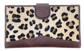 Jungle Wallet, Leopard & Suede