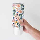 Stainless Skinny Tumbler Autumn Blossoms