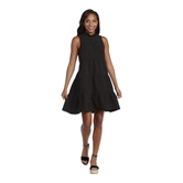 Black Nat Bow Tie Dress