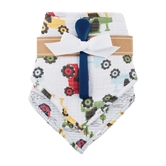 Tractor Muslin Bibs And Spoon