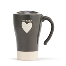 Journey Heart Travel Mug