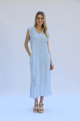 Dress Avery Wild & Free Blue Prepack