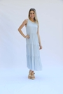 Dress Layne Speckled with Love Blue Prepack