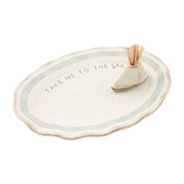 Sea Platter & Toothpick Set