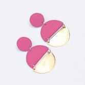 Earrings Brexley Pink