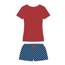 American Stars Jammie Short Set Assortment, No Display Package