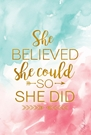 Sachet 18 Pack-She Believed She Could