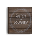 "Enjoy the Journey Wall Art - 14""sq."