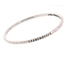 ANT SILVER MANTRA BANGLE-GRANDMOTHER