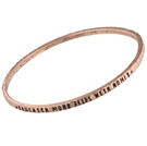 ANT COPPER MANTRA BANGLE- YOU CATCH MORE FLIES w/HONEY