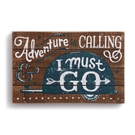 Adventure is Calling Wall Art - 14x9""