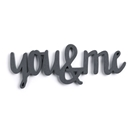 You & Me Word Magnet