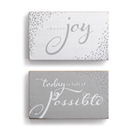 Possible & Joy Wall Art - 2A - 8.5x5""