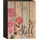 LATH BOX /BE STILL 6X8