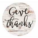 GIVE THANKS - 26