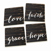 LOVE FAITH GRACE HOPE - 4PK