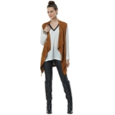 Isabelle Suede Vest Toffee Assortment