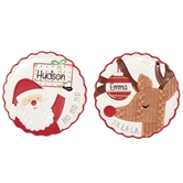 Holiday Personalizable Dessert Plates