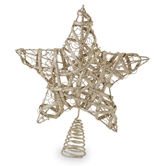 Glitter Wire Star Tree Toppers