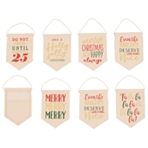 Mini Canvas?Holiday Banner/Gift Card Holder