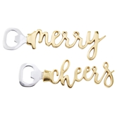 Merry & Cheers Bottle Openers