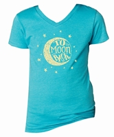 Kids To the Moon & Back Bondi Blue V-Neck Assortment