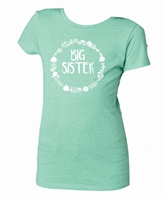 Kids Big Sister Mint Crewneck Assortment