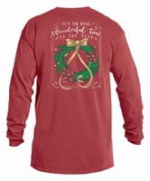 It's the Most Wonderful Time Crimson L/S Tee Assortment