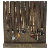 Roxy Collection Necklaces 2 each of 8 styles and FREE Display