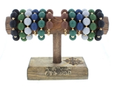 Belle of the Ball Bracelet Collection 2 each of 6 styles and FREE Display