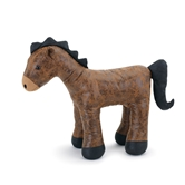 LL Faux Leather Horse Door Stop