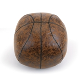 LL Faux Leather Basketball Door Stop
