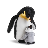 Penguin Father & Chick