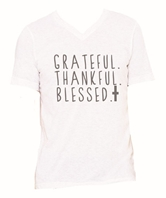 Grateful Thankful Blessed T-Shirt Assortment FREE Display
