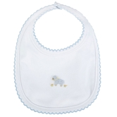 FRENCH KNOT LAMB BIB